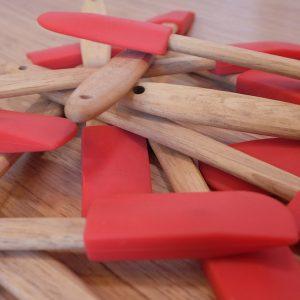 Pile of spatulas