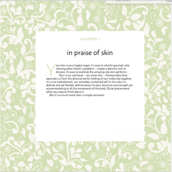 In praise of skin