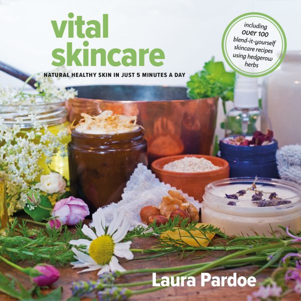 Vital Skincare by Laura Pardoe - simple natural skincare using the ingredients that grow around us. Learn about the plants and herbs that give you a healthy glow.