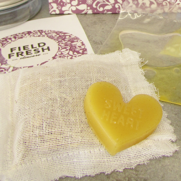 Beeswax heart Skincare kits