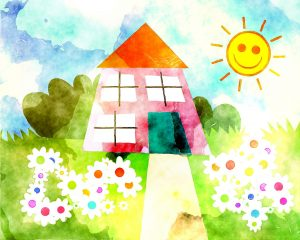 Marshmallow happy home