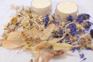 Gentle eye cream with chamomile, limeflower and cornflower